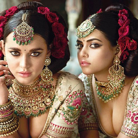 Sabyasachi-Mukherjee's-new-collection-Photoshoot